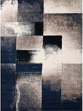 Flachgewebe-Teppich Maxwell in Blau LoftDesigns