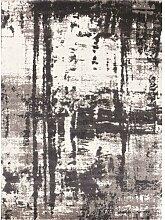 Flachgewebe-Teppich Maxwell in Grau LoftDesigns