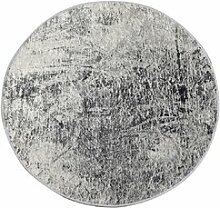 Flachgewebe-Teppich Mujde in Grau/Beige
