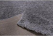 Flachgewebe-Teppich Remo in Grau