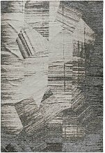 Flachgewebe-Teppich Stay in Grau benuta