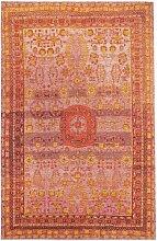 Flachgewebe-Teppich Stay in Rot benuta