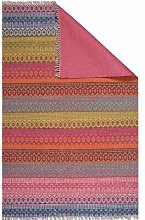 Flachgewebe-Teppich Terence in Mehrfarbig