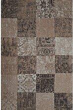 Flachgewebe-Teppich Zendaya in Taupe World