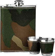 Flachmann-Set Camouflage ClearAmbient