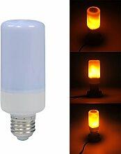 Flackernde Lampe, LED-Flacker-Glühbirne,