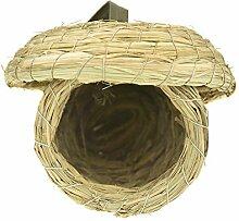 fladorepet Aufhängen Stroh Parrot Bird Nest Bett