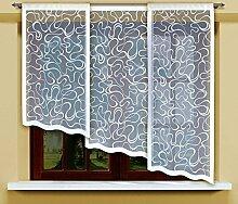 Flächenvorhang kurz, Panel kurz, Schiebevorhang kurz, Gardine, Vorhang (160 x 60 cm)