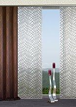 Flächenvorhang Schiebevorhang Dekostoff 245 x 60