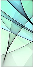 Flächenvorhang Set Evolution Kurven Linien Wellen