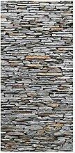 Flächenvorhang Set Mallorca Stonewall 250x120cm |