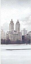 Flächenvorhang Set No.YK2 New York im Schnee