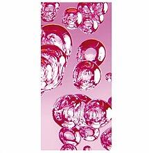 Flächenvorhang Set Pink Bubbles 250x120cm  
