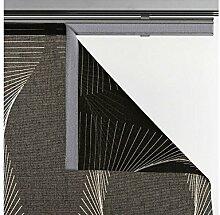 Flächenvorhang Stoff Malmö Schiebevorhang, braun
