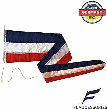 Flagcessories Premium Langwimpel Schleswig