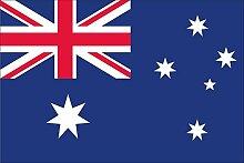 Flagge Fahne Australien, ca. 20 x 30 cm, 160 g/m²