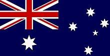 Flagge Fahne Australien, ca. 200 x 80 cm