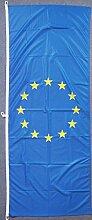 Flagge Fahne Europa, ca. 200 x 80 cm Hochformat,