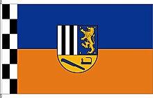 Flagge Fahne Kleinflagge Kreis Siegen-Wittgenstein - 40 x 60cm