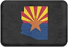 Flagge Karte von Arizona Willkommen Eingang