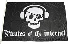 Flagge Pirates of the interne