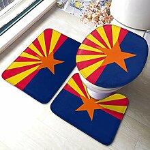 Flagge von Arizona Soft Flannel Bad Teppiche
