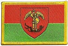 Flaggen Aufnäher Belgien Stadt Brüssel Fahne Patch + gratis Aufkleber, Flaggenfritze®