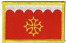 Flaggen Aufnäher Frankreich Gard Fahne Patch + gratis Aufkleber, Flaggenfritze®