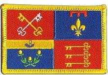 Flaggen Aufnäher Frankreich Vaucluse Fahne Patch + gratis Aufkleber, Flaggenfritze®