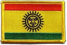 Flaggen Aufnäher Indianer Taino Fahne Patch + gratis Aufkleber, Flaggenfritze®