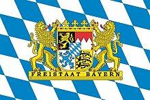 Flaggenfritze® Fahne Flagge Bayern Freistaat