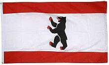Flaggenfritze® Fahne Flagge Berlin 60 x 90 cm