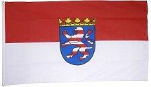 Flaggenfritze® Fahne Flagge Hessen 90 x 150 cm