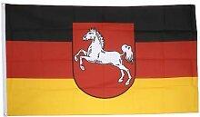 Flaggenfritze® Fahne Flagge Niedersachsen 90 x