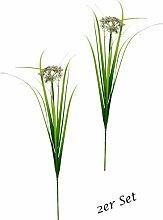 Flair Flower Schafgarbe mit Gras 88 cm, 2er Set,