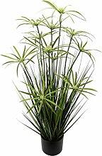 Flair Flower Topf Kunst-Pflanze Grasbusch Gras