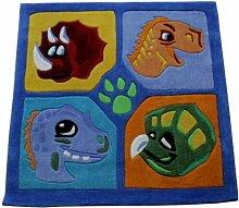 Flair Rugs Kinder Teppich mit Dinosaurier-Design
