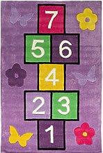 Flair Rugs Kinder Teppich mit Hüpfspiel-Design
