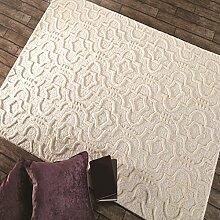 Flair Rugs Moorish Marrakech Creme Wool Muster