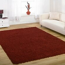 Flair Rugs Nordic Cariboo Rot Hochflor Design Rug