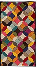 Flair Rugs Spectrum Mambo Teppich mit geometrischem Muster (80x150cm) (Bunt)