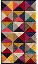 Flair Rugs Spectrum Samba Teppich mit geometrischem Muster (160cm x 230cm) (Bunt)