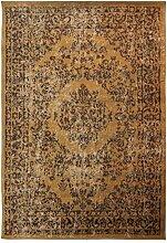 Flair Rugs Teppich, leicht, weich, strapazierfähig, getufteter Teppich Teppiche Perser Design Teppich, 80x 150cm, Beige