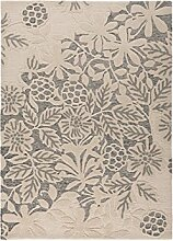 Flair Rugs Textures Loxley Teppich mit Muster (160x230cm) (Weiß/Grau)