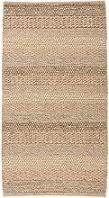 Flair Rugs Textures Teppich mit Flecht-Design (80cm x 150cm) (Natur/Grau)