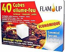 Flam 'Up 0600 Grillanzünder wirtschaftlichen 40 Cubes