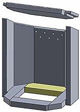 Flamado Bodenstein hinten 224x82x30mm (Vermiculite)