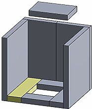 Flamado Bodenstein Links/rechts 267x68x25mm