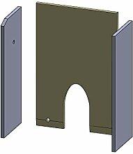 Flamado Rückwandstein 298x247x10mm (Vermiculite)