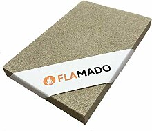 Flamado ® Vermiculite Platten 400 x 300 x 25 mm